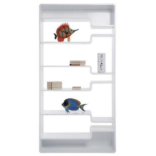 Kare design :: regał soft shelf (220x110) biały - czarny ||biały