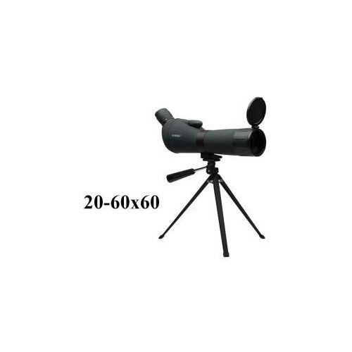 Profesjonalna luneta obserwacyjna 20-60x60 + statyw + pokrowiec/torba. marki Kandar