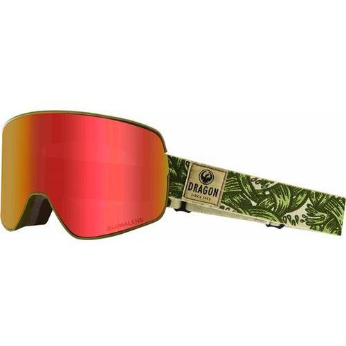 Dragon Gogle snowboardowe - dr nfx2 two plex llredion+llyellow (800) rozmiar: os