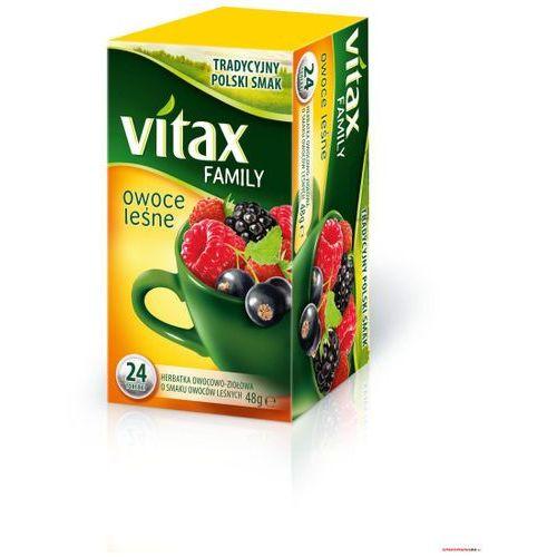 Herbata VITAX FAMILY OWOCE LEŚNE 24t*2g Bez zawieszki