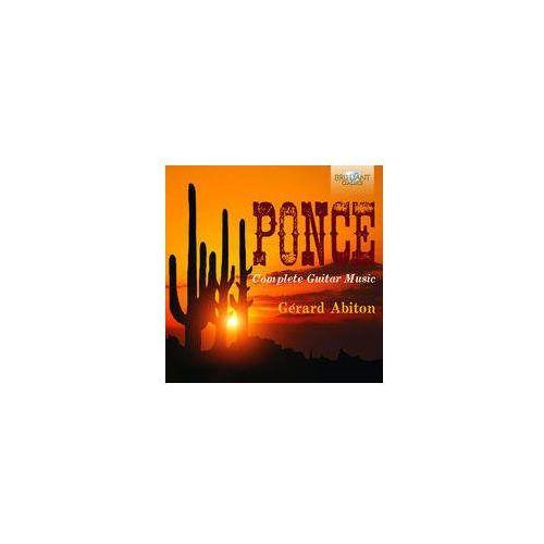 Brilliant classics Abiton gerard - ponce: complete music for guitar (5028421949864)