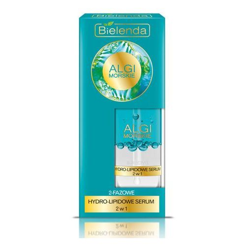 Nawilżające hydro-serum 2w1 Algi Morskie 30ml Bielenda