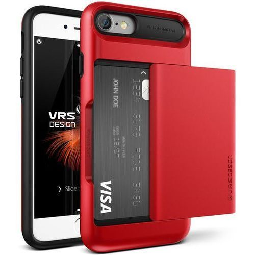 Vrs design Etui damda glide do iphone 7 czerwony