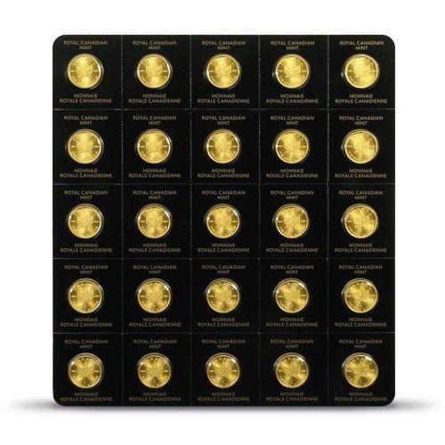Kanadyjski liść klonowy maplegram 25 x 1g marki Royal canadian mint