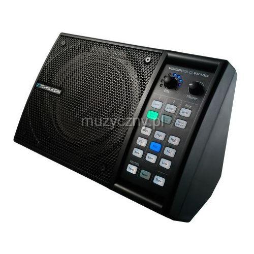 TC Helicon Voice Solo FX150 aktywny odsłuch 150W