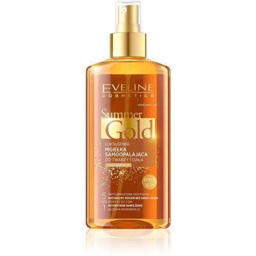 Eveline Summer Gold Mgiełka samoopalająca do twarzy i ciała - jasna karnacja 150ml (5901761952025)