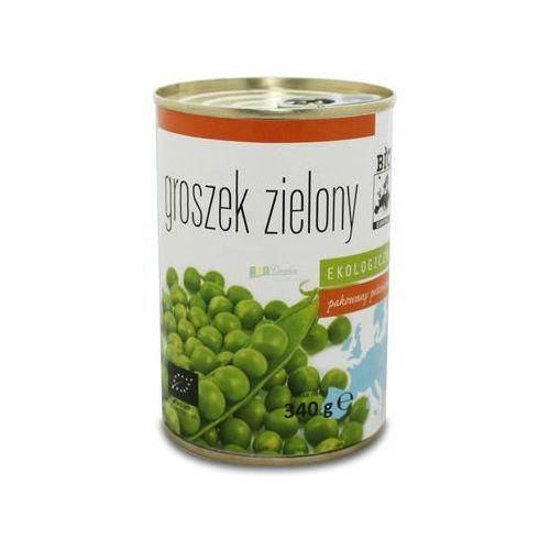 Groszek zielony konserwowy bio 340g (270g)- marki Bio europa
