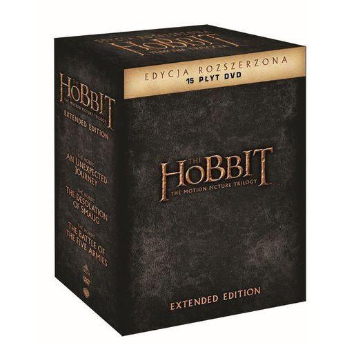 Hobbit: Trylogia. Wydanie rozszerzone (15DVD)