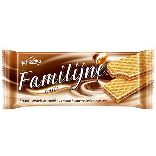 Wafle Familijne o smaku kakaowo-śmietankowym 180 g, X09697
