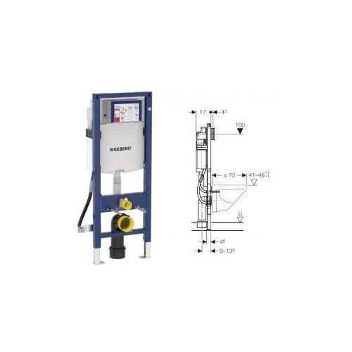 Geberit Duofix do WC dla niepełnosprawnych, Sigma 12cm, H112 111.350.00.5 - produkt z kategorii- Stelaże i zestawy podtynkowe