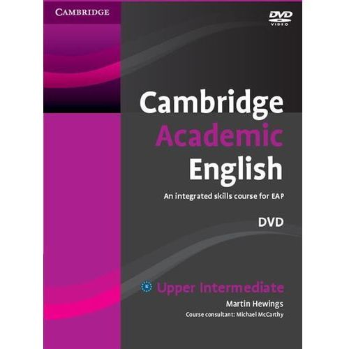 Cambridge academic english b2 upper intermediate dvd (płyta dvd) marki Cambridge university press