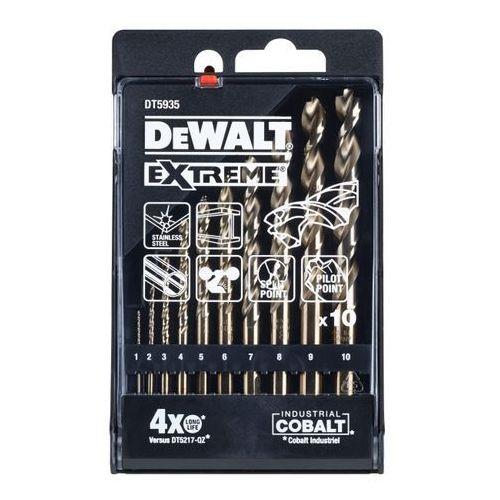 Dewalt Wiertła kobaltowe 10 szt.