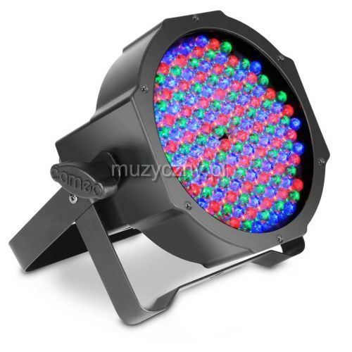 clpflat1rgb10ir flat par can 144 x 10mm rgb reflektor w czarnej obudowie marki Cameo