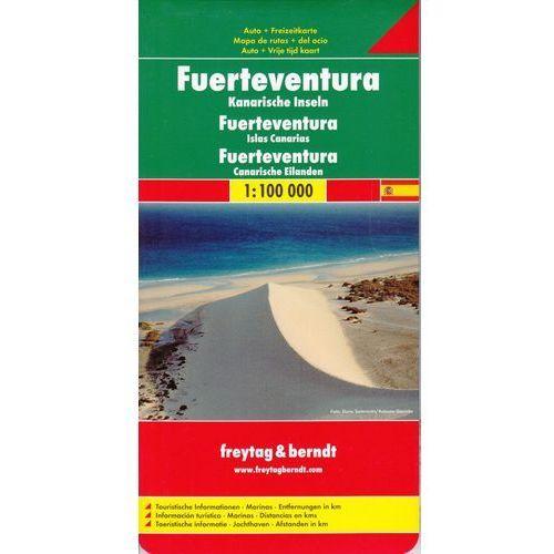 Fuerteventura 1:100 000. Mapa samochodowa, składana. Freytag&Berndt (2011)