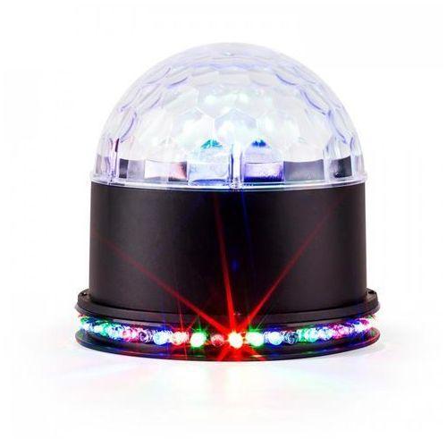 Ibiza Ufo-astro-bl efekt świetlny led rgb czarny