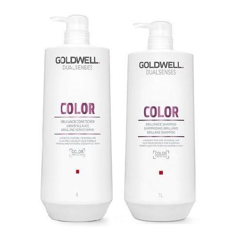 color do pielęgnacji włosów farbowanych | szampon 1000ml, odżywka 1000ml marki Goldwell