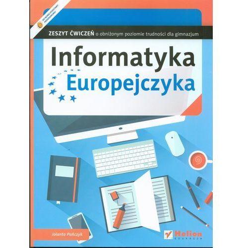 Informatyka Europejczyka. Zeszyt ćwiczeń o obniżonym poziomie trudności dla gimnazjum - Wysyłka od 3,99 - porównuj ceny z wysyłką (2015)