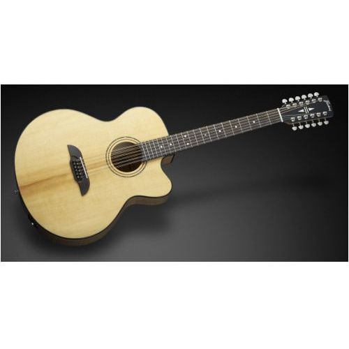 Framus FJ 14 SMV - Vintage Transparent High Polish Natural Tinted + EQ (12-string) gitara elektroakustyczna