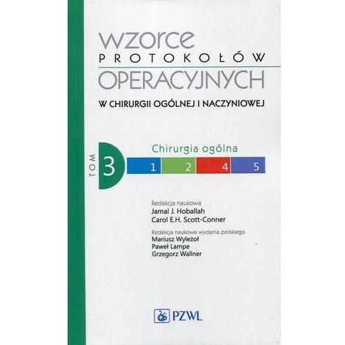 Wzorce protokołów operacyjnych w chirurgii ogólnej i naczyniowej Tom 3 - Wysyłka od 3,99 - porównuj ceny z wysyłką (242 str.)