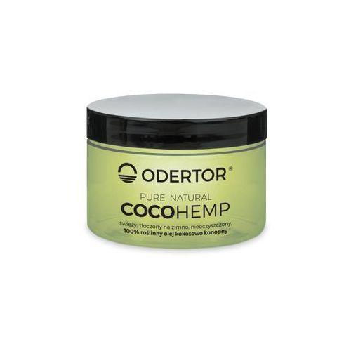 """Odertor manufaktura Olej kokosowo-konopny 200 ml - wegańskie """"masło"""" nowość cocohemp"""