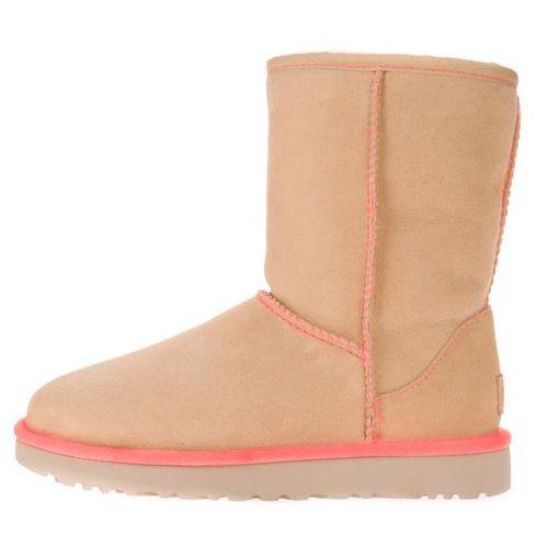 Ugg  classic short ii buty zimowe beżowy 41