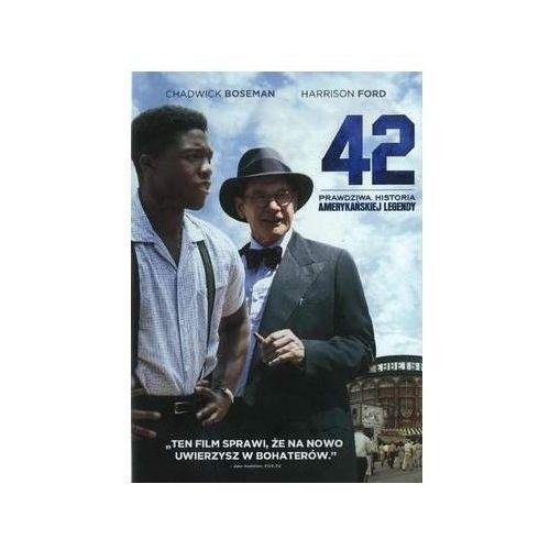 42-prawdziwa historia amerykańskiej legendy (dvd) - brian helgeland od 24,99zł darmowa dostawa kiosk ruchu marki Galapagos films / warner bros. home video