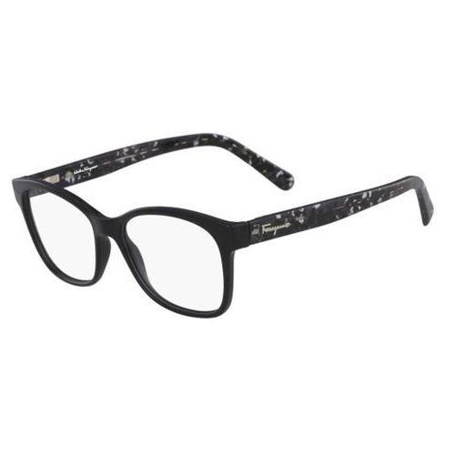 Salvatore ferragamo Okulary korekcyjne sf 2797 001
