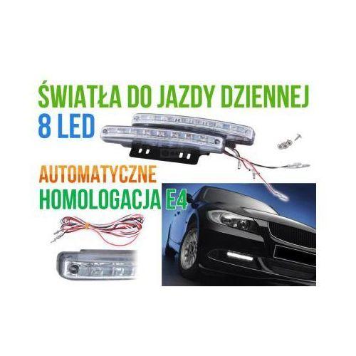 Profesjonalne Halogeny LED do Jazdy Dziennej, 2x8 LED.