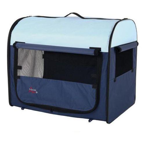 TRIXIE TCamp Box transportowy nylonowy dla kota lub małego psa, 47cm