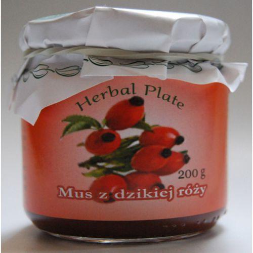 Mus z owoców dzikiej róży - 200 g