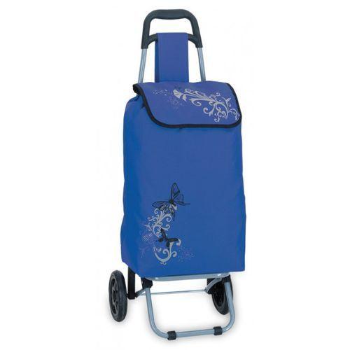 Wózek na zakupy niebieski niemieckiej marki Southwest (wózek na zakupy)