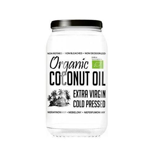 DietFood Organic Coconut Oil - Bio Olej Kokosowy 1000ml - nierafinowany