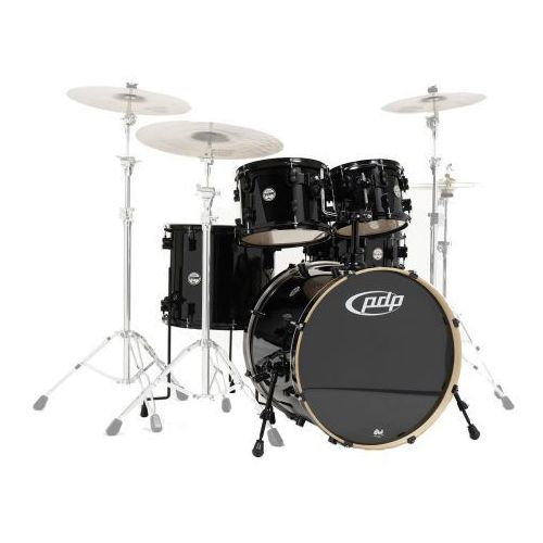 PDP by DW Shell set Concept Maple, Pearlescent black