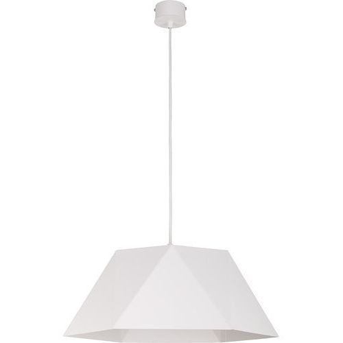 Lampa wisząca ice l biała do salonu 50 cm marki Sigma