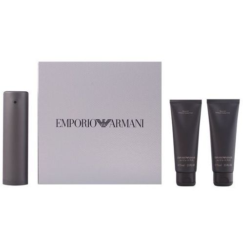Giorgio Armani Zestaw Emporio He EDT 50 ml + 2 x Żel pod prysznic Emporio He 75 ml (kosmetyk)