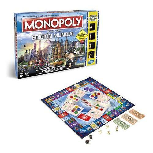 Hasbro Gra monopoly edycja świat