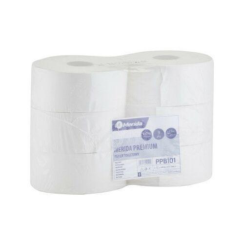 Papier toaletowy premium, 3 warstwy, celuloza 6 rolek marki Merida