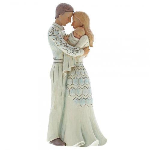 Jeśteśmy Rodziną - Dziecko to największy Dar 6001554 Jim Shore figurka róże