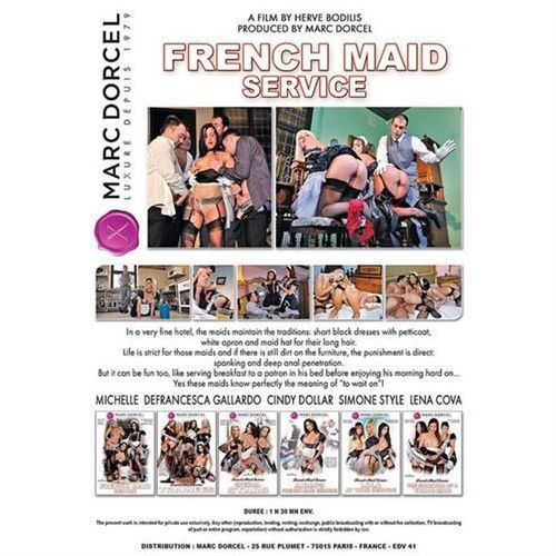 DVD Dorcel - French Maid Service - 6 x DVD, 6_4531