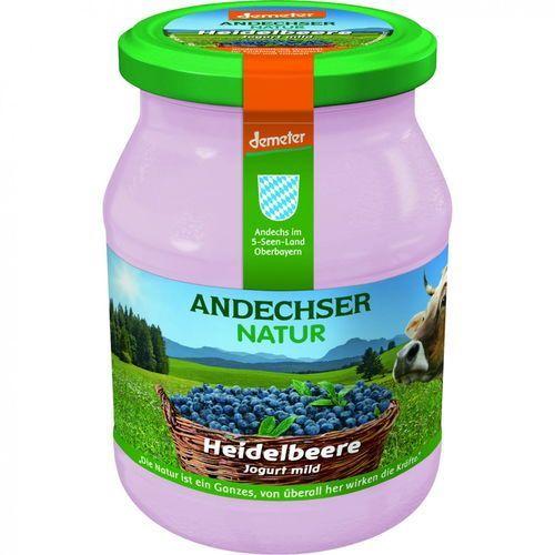 Andechser Jogurt borówkowy 3,7% demeter bio 500 g natur (4104060029059)