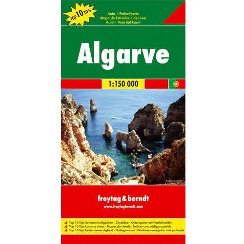 Algarve mapa 1:150 000 Freytag & Berndt, Freyja Press