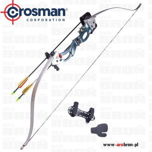 Łuk klasyczny augusta ary2026 - zestaw kołczan, 2 strzały, ochraniacz na przedramię, skórka marki Crosman