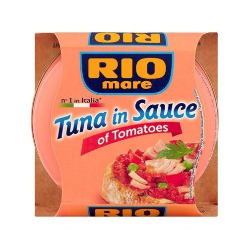RIO MARE 160g Tuńczyk w sosie z pomidorów