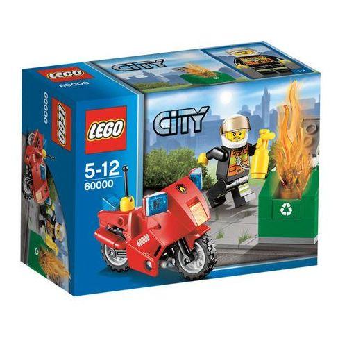 Lego City MOTOCYKL STRAŻACKI 60000 z kategorii: klocki dla dzieci