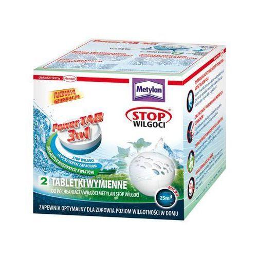 Tabletki wymienne Stop Wilgoci Power TAB Wiosenny Aromat 2x300g Metylan - produkt z kategorii- Pochłaniacze wilgoci