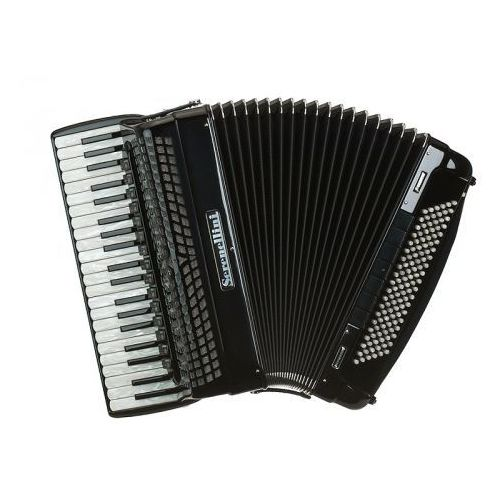 Serenellini cassotto professional 414 (2+2) 41/4/15+m 120/5/7 piccolo akordeon (czarny)
