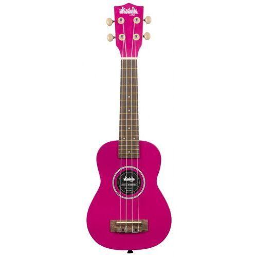 ukadelic dragon fruit soprano, ukulele sopranowe z pokrowcem marki Kala