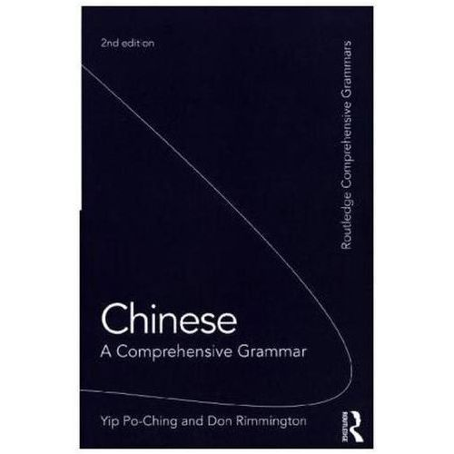 Chinese: A Comprehensive Grammar (9781138840164)
