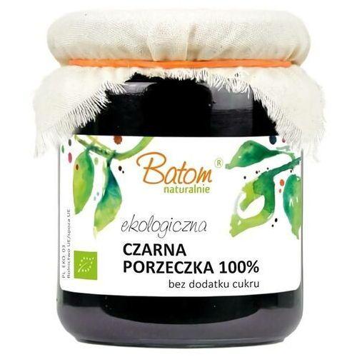 Batom (dżemy, soki, kompoty, czystek) Czarna porzeczka 100% b/c bio 260 g – batom