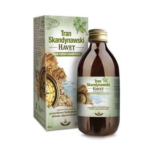 Płyn TRAN SKANDYNAWSKI HAVET Smak miętowo-eukaliptusowy płyn 250ml